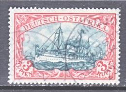GERMANY  East Africa  41 A  Blackish Green    (o)   Wm.   BAGAMOJO  TYPE III - Colony: German East Africa