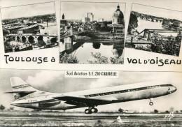 AVIATION(TOULOUSE BLAGNAC) CARAVELLE - 1946-....: Moderne