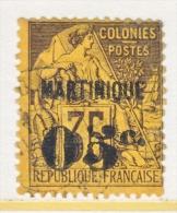 FRENCH   MARTINIQUE  15   (o) - Martinique (1886-1947)