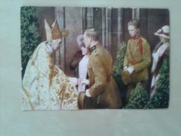 Kardinaal Cardijn Ontvangt Koning Albert I Van Belgie En Zijn Familie - Belgique