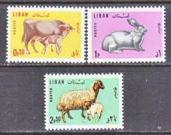 LIBAN     FAUNA, COW, RABBIT, SHEEP   440-2  * - Lebanon