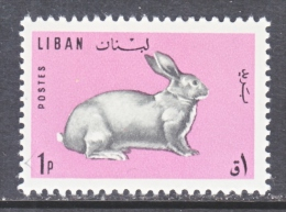 LIBAN    RABBIT   441  * - Lebanon