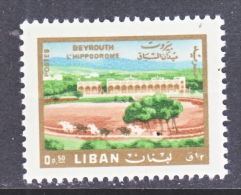 LIBAN     HIPPODROME  443   *   1966  Issue - Lebanon