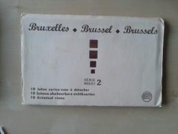 Brussel 10 Schone Afscheurbare Zichtkaarten Reeks 2 - Otras Colecciones