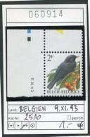 BUZIN - Belgien - Belgique COB 2458 Avec Coin Daté  9.XI.93 -  Michel 2510 - ** Mnh Neuf Postfris - Vögel Oiseaux Birds - 1985-.. Birds (Buzin)