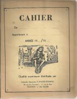 TOURNAI  Librairie Generale V. MASSE FOUREZ  Cahier De Religion 1955 - 1960 - Buvards, Protège-cahiers Illustrés