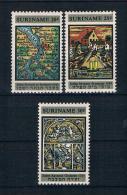 Suriname 1968 Mi.Nr. 545/47 kpl. Satz **