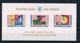 Kongo 1964 Uni Block 3 ** - Dem. Republik Kongo (1964-71)
