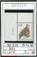 BUZIN - Belgien - Belgique - Belgium - Belgie - Michel -  2833 COB 2783 -  ** Mnh Neuf Postfris - Vögel Oiseaux Birds - 1985-.. Birds (Buzin)