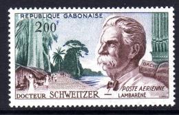 Gabon PA  N° 1 XX  Vue De Lambaréné Et Effigie Du Docteur Schweitzer Sans Charnière, TB - Gabon (1960-...)