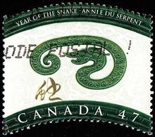 Canada - Scott #1883 Chinese Year Of The Snake (*) / Used Stamp - Astrology