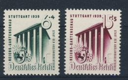Deutsches Reich Michel No. 692 - 693 ** postfrisch