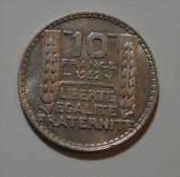 10 Francs Turin Argent - K. 10 Francs