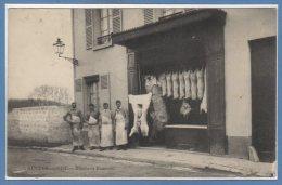95 - AUVERS Sur OISE --  Boucherie Hanevald - Auvers Sur Oise