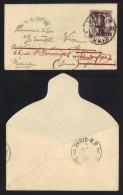 TCHONGKING - INDOCHINE / 1928 MINI ENVELOPPE POUR ROUEN - REEXPEDIEE (ref 6296) - Tchong-King (1902-1922)