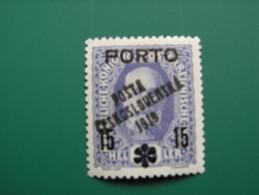 "K.u.K. Monarchie  Tschechoslowakei Aufdr. ""POSTA CESKOSLOVENSKA 1919""  Porto - Tchécoslovaquie"