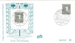Bund 226 y sauber auf Schmuck- Ersttagsbrief von Stuttgart 1963