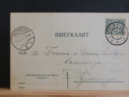 51/348  CP  P.B.  1907  OBL.  LOPPERSUM - Covers & Documents