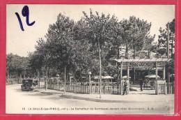 44-La Baule-les-Pins-le Carrefour Du Carrousel Devant Chez Racouchot-cpa  écrite 1933 - La Baule-Escoublac