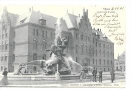 CPA .   ALTONA ...ZIRKULURT 1901...STUHLMANN BRUNNEN...GUTER ZUSTANG... - Altona