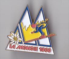 PIN´S  THEME SKI  STATION DE LA MONGIE - Winter Sports
