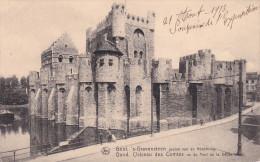 Belgica--Gent--1913--s'Gravensteen--Chateau Des Comtes--Vue Du Pont De La Decapitation--Fechador- - Castillos