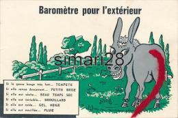 ANE - BAROMETRE POUR L'EXTERIEUR (CPSM) - Anes