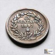 México - 1 Centavo - 1897 - Mexique