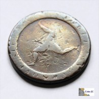 Isla De Man - 1/2 Penny - 1798 - Colonie