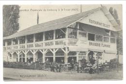 ///  CPA - ST TROND - ST TRUIDEN - Exposition Provinciale Du Limbourg - Restaurant Select - Brasserie Flamande  // - Sint-Truiden