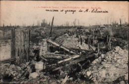 55 - CHATTANCOURT - Maison Et Grange De M. Lelaurain - Bataille De Verdun - Les Ruines - Sin Clasificación