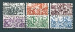 Cote Francaise Des Somalis PA De 1946  N°14 A 19  Neuf * - French Somali Coast (1894-1967)