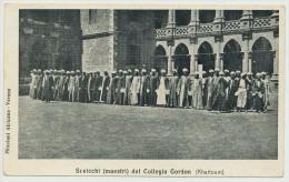 KHARTOUM SUDAN SCEICCHI DEL COLLEGIO GORDON - Sudan