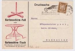 """DR, 1925, Perfin """" GC """", Werbung!!   #1511 - Deutschland"""