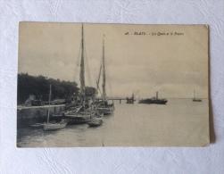 Blaye - Les Quais Et Le Ponton - Blaye
