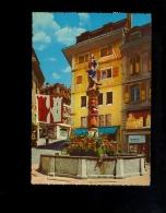 LAUSANNE Vaud VD : Place Palud Et Fontaine De La Justice 1966 / Pharmacie De La Palud - VD Vaud