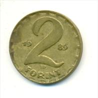 4-1476. Moneda Hungria. 2 Forint 1989. BC - Hungría
