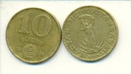 4-1481. Moneda Hungria. 10 Forint 1988. BC - Hungría