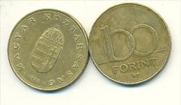 4-1485. Moneda Hungria. 100 Forint 1995. BC - Hungría