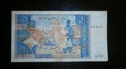 ALGERIA 5 DINARS 1970 - Banknotes