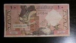 ALGERIA 10 DINARS 1964 - Banknotes