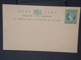 GRANDE BRETAGNE- MALACCA - Entier Postal Non Voyagé   A Voir  Lot P4962 - Singapore (...-1959)