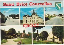 51 - Saint-Brice-Courcelles (Marne) - Multi-vues / 2 Scans - Autres Communes