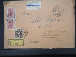 AUTRICHE-Enveloppe En Recommandée De Wien Pour La France En 1930      A Voir  Lot P4967 - 1918-1945 1. Republik