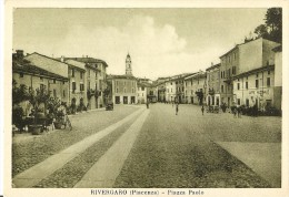 W-RIVERGARO(PIACENZA)-PIAZZA PAOLO-PICCOLA ANIMAZIONE