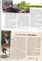 Page Vie Des Jardins Theme Mesange - Livres, BD, Revues