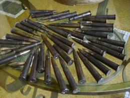 """ww2 """"1Kg""""40 munition  de qualit�"""" balle 303"""" british""""  Pour pistolet mitrailleur""""BREN""""  ..INERT"""