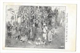 12457 - E. St. Vraz Pred 21 Lety V Zapadni Africe Groupe D'Africains - Tchéquie