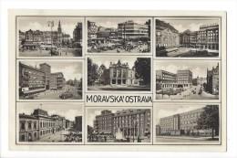 12461 - Moravska'Ostrava Censurovano Multivues Censure - Tchéquie