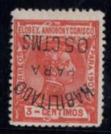 ELOBEY.N50chi INVERTIDA. CON CHARNELA. - Elobey, Annobon & Corisco